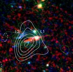 'Teenage'-galaxies booming with star births