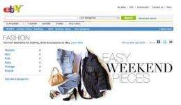 EBay makes a big play for fashion (AP)