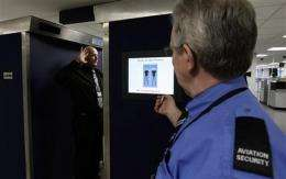 EU nations divided on use of airport body scanners (AP)