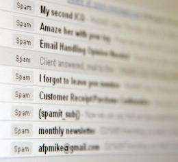 Europe produced over a third of the world's total junk emails in the second quarter of 2010