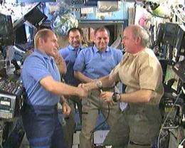 Expedition 22 Crew to Return From Station Thursday