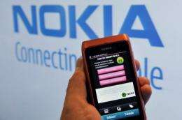 Finland's mobile phone maker Nokia's N8 smartphone