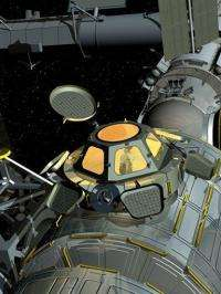 First Internet, now bay window at space station (AP)