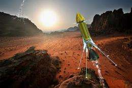 Fleet of INL-designed Mars hoppers could swiftly explore other worlds