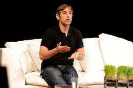 Founder, CEO, & Chief Product Officer at Zynga Mark Pincus, seen in June 2010