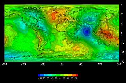 GOCE giving new insights into Earth's gravity