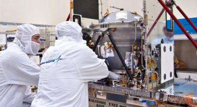 GRAIL Spacecraft Takes Shape