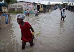 Haiti 'got very lucky' as Tomas skirted island (AP)