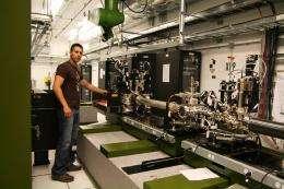 Hard X-rays Reach LCLS Pump Probe Instrument