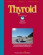 Hashimoto's thyroiditis can affect quality of life