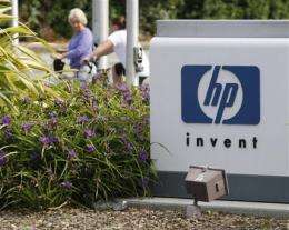 HP's 3Q numbers solid but could fuel doubts (AP)