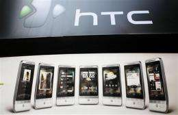 HTC swipes back at Apple in patent dispute (AP)