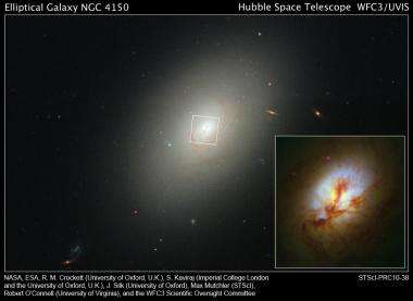 Hubble Captures New Life in an Ancient Galaxy