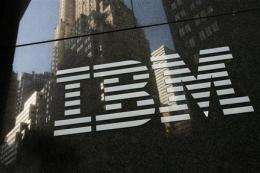 IBM's earnings indicate tech spending picking up (AP)