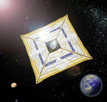 IKAROS unfurls first ever solar sail in space