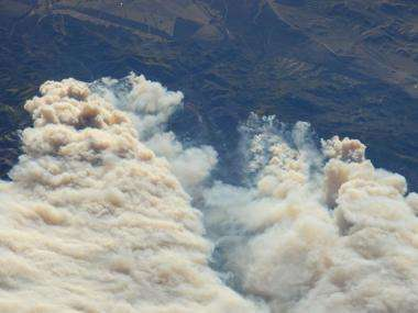 Image: Twitchell canyon fire