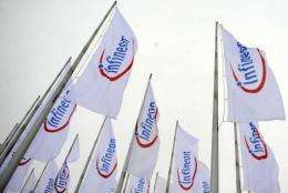 Infineon posted a first quarter net profit of 66 million euros (92 million dollars)