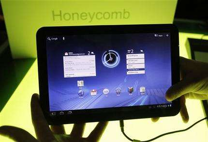 Inside Motorola's Xoom: Plenty of horsepower (AP)