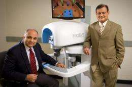 Introducing RoSS, a 'flight simulator' for robotic surgery