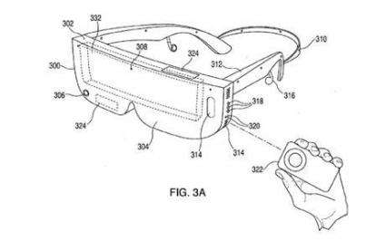 Apple patent application for 3D viewing glasses