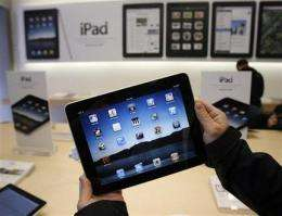 Israel bans imports of Apple iPad (AP)