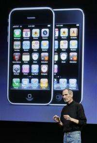 Jobs made phone call seeking return of lost iPhone (AP)