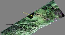 JPL Airborne Radar Captures Its First Image of Post-Quake Haiti