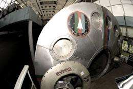 Launch of Mars500 mission on 3 June in Moscow