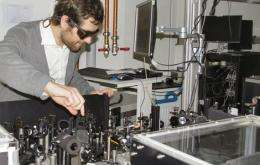 Light touch transforms material into a superconductor