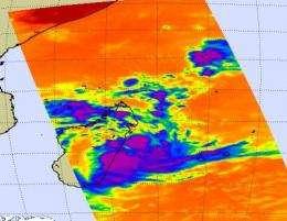 Low strengthens into Hubert, making landfall in Madagascar