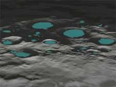 Lunar Polar Craters May Be Electrified