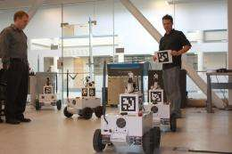 Unmanned robot team bound for Australian in international competition