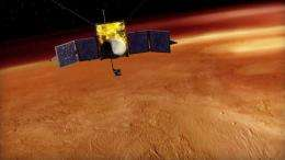 MAVEN mission to investigate how sun steals Martian atmosphere