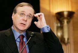 Microsoft co-founder Paul Allen, pictured in 2006
