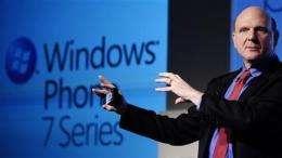 Microsoft replays Zune design for phone comeback (AP)