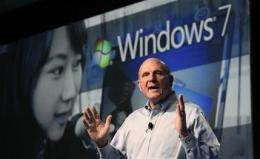 Microsoft's Ballmer hypes smart phone, browser (AP)