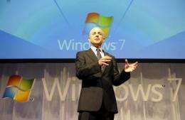 Microsoft Windows vice president Steven Sinofsky