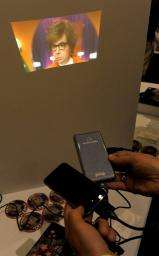 Microvision's SHOWWX Laser Pico Projector