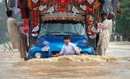 Modeling Pakistan's flooding