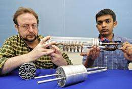Engineers design, build major component for hydrogen cars