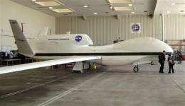 NASA begins science flights with robotic jet (AP)