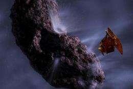 NASA craft readies for Valentine comet encounter (AP)