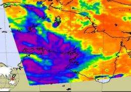 NASA sees former Tropical Storm Carlos still a soaker in the Northern Territory