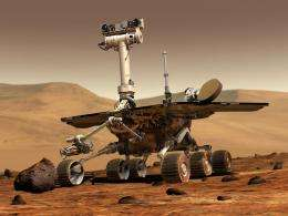 NASA to check on Rover Spirit during Martian Spring