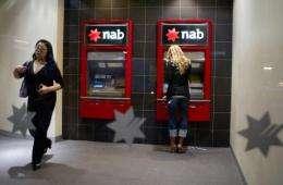 National Australia Bank (NAB) is Australia's biggest bank