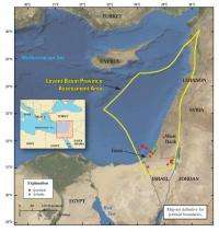 Natural gas potential assessed in Eastern Mediterranean