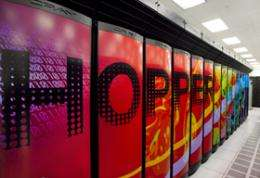 NERSC supercomputing center breaks the petaflops barrier