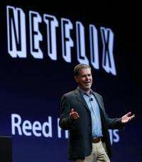 Netflix's 2Q earnings up 34 pct, topping estimates (AP)