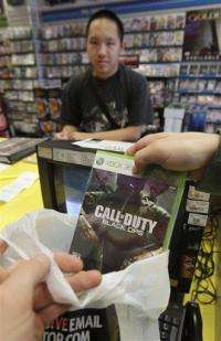 New 'Call of Duty' blasts last year's sales record (AP)