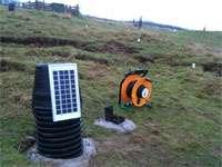 New early warning system for landslide prediction
